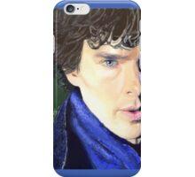 Benedict Cumberbatch as Sherlock Design 2 iPhone Case/Skin