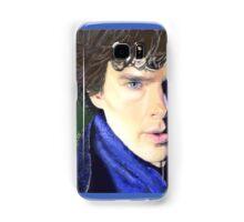 Benedict Cumberbatch as Sherlock Design 2 Samsung Galaxy Case/Skin