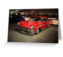 '57 Chevy Greeting Card