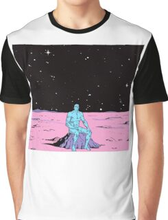Dr. Manhattan on Mars Graphic T-Shirt