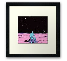 Dr. Manhattan on Mars Framed Print