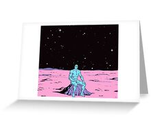 Dr. Manhattan on Mars Greeting Card