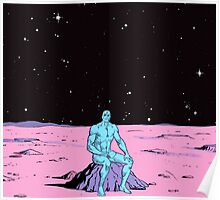 Dr. Manhattan on Mars Poster