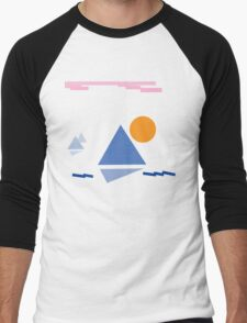 Sail to Harmony Men's Baseball ¾ T-Shirt