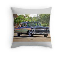 '59 Cadillac Fleetwood Limo Throw Pillow