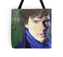 Benedict Cumberbatch as Sherlock Design 2 Tote Bag