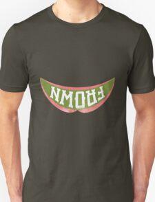 Upside-down frown T-Shirt
