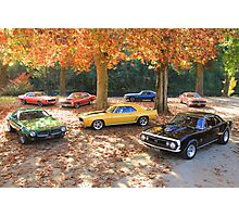 Autumn Muscle Photographic Print