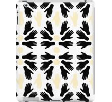 Touch my Hands Pattern iPad Case/Skin