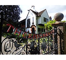 Red Gables Cottage, Rothamsted Research Photographic Print