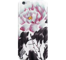 Chinese Peony Design by Henrik Lee iPhone Case/Skin