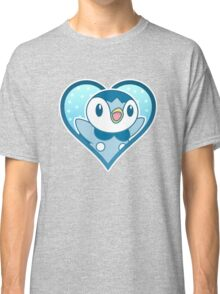 Piplup Heart Classic T-Shirt