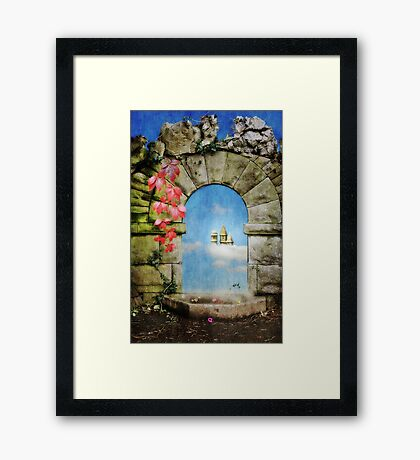 Once- Upon- A Dream Framed Print