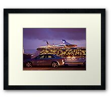 Independence of the seas Framed Print