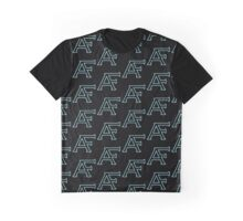AF monogram repeated pattern Graphic T-Shirt