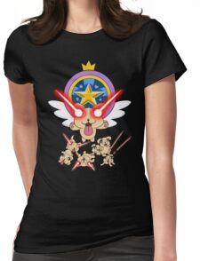 Star vs The Forces of Evil, Lazer Puppies Womens Fitted T-Shirt