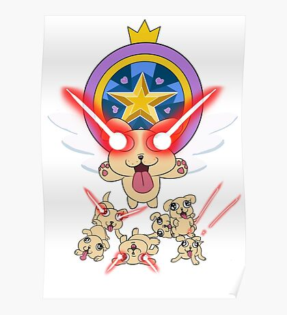 Star vs The Forces of Evil, Lazer Puppies Poster