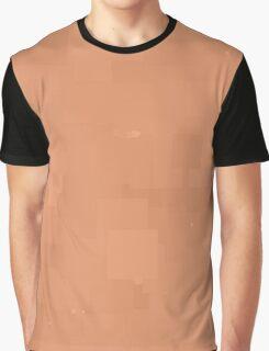 Sandstone Square Pixel Color Accent Graphic T-Shirt