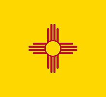 New Mexico State Flag by Carolina Swagger