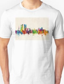 Madrid Spain Skyline Unisex T-Shirt