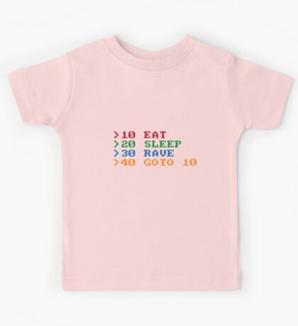 BASIC Party Etiquette Kids Tee
