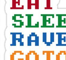 BASIC Party Etiquette Sticker