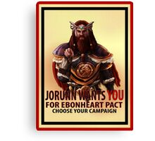 Join Ebonheart Canvas Print