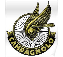 Campagnolo Vintage Italy Poster