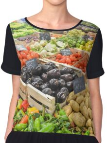 food healthy vegetables potatoes Chiffon Top