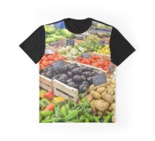 food healthy vegetables potatoes Graphic T-Shirt