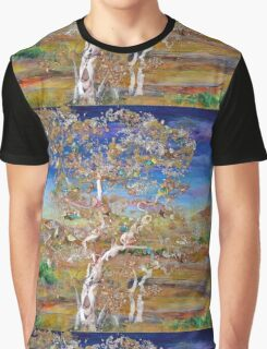 Solace - mixed media birches Graphic T-Shirt