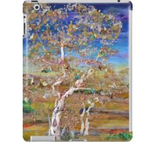 Solace - mixed media birches iPad Case/Skin