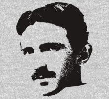 Nikola Tesla by mobii