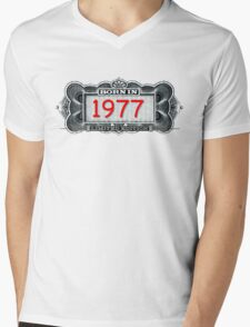 Born In 1977 - Limited Edition Mens V-Neck T-Shirt