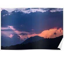 Dubrovnik Sunset Poster