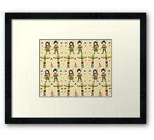 Little Indians Framed Print