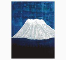 Mount Shasta original painting Baby Tee