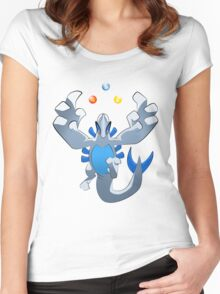 Beast of the sea simplified ver. Women's Fitted Scoop T-Shirt
