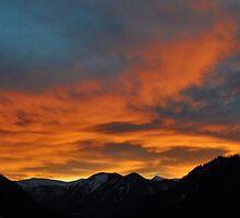 Austrian Sunset by ASchachinger