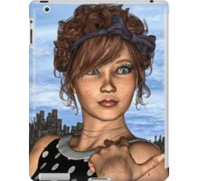 Retro Girl iPad Case/Skin