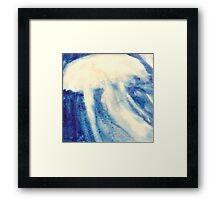 Abstract Sea Nettle Framed Print