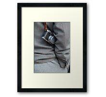 The Photographer Framed Print