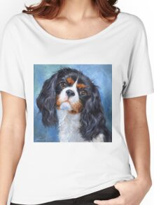 Cavalier King Charles Spaniel Women's Relaxed Fit T-Shirt