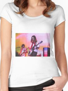 Kevin Parker Tame Impala Band Women's Fitted Scoop T-Shirt