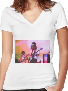 Kevin Parker Tame Impala Band Women's Fitted V-Neck T-Shirt
