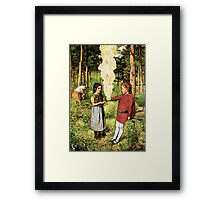 Firestarter Framed Print