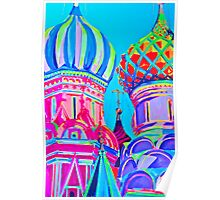 St Basil's Cathedral, Moscow Poster