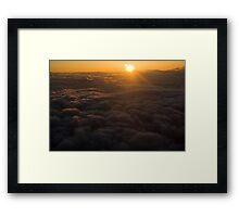 Soaring Above the Clouds Framed Print
