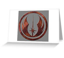 The Order of the Jedi Greeting Card
