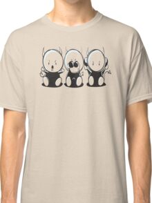 Hear No Evil See No Evil Speak No Evil Classic T-Shirt